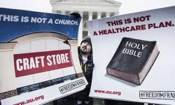 Scotus - Hobby Lobby protest
