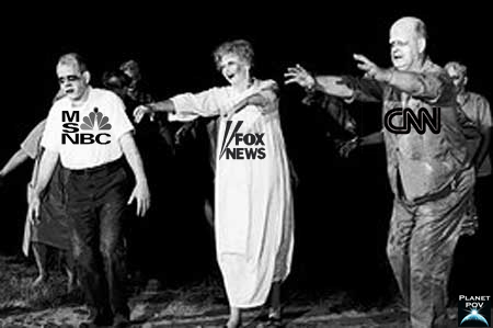 zombie news channels
