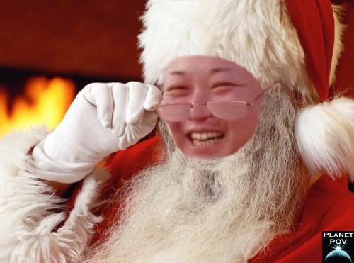 Kim Jong Il - Santa