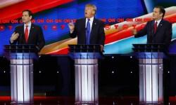 Trumb Cruz Rubio debate