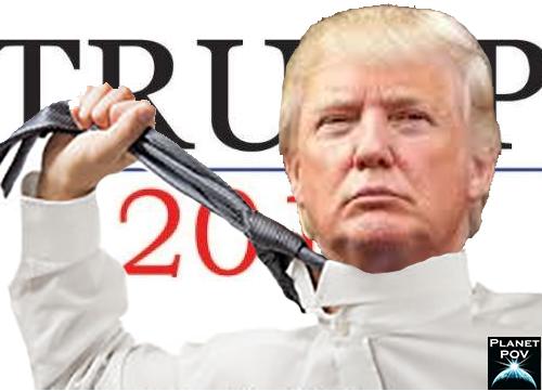 Trump choke