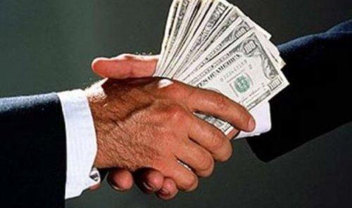 lobbyist handshake