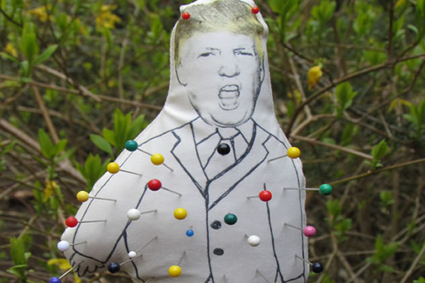 Trump Claims Obama is Using a Voodoo Doll On Him | PlanetPOV