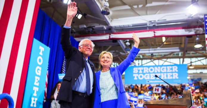 Hillary Dems vs. Bernie Dems – The Pointless and Soon-To-End Civil War