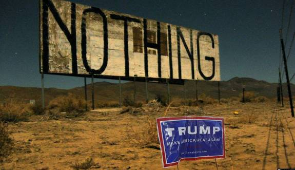 Trump nothing