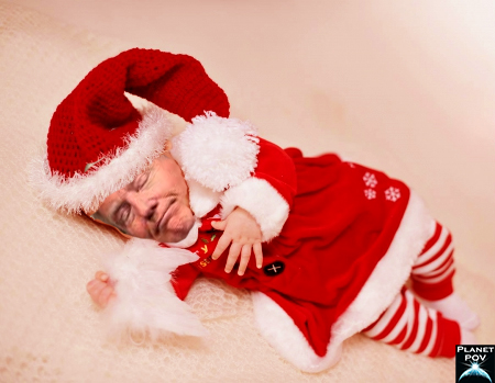 Trump baby santa