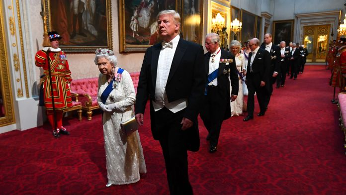 Trump Luncheon With Queen Ruined As Entire Beef Wellington Disappears
