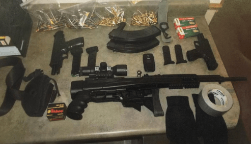 Armor-Clad Man With Assault Style Rifle, Handgun, and 100 Rounds of Ammo Arrested Despite All of It Being Legal!