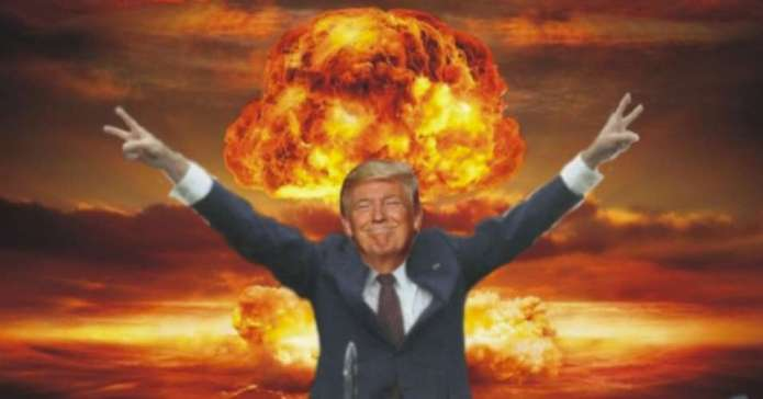 Trump Flirts With Dropping Nukes on America to Wipe Out COVID-19