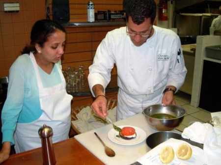 Mario Mangone, owner of Chambers Walk Cafe, is one of several chefs who will conduct cooking demos at the Living Local Expo Saturday.