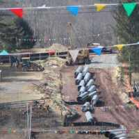 Current Transco pipeline construction in Hunterdon County. Photo: Fight the Pipe.
