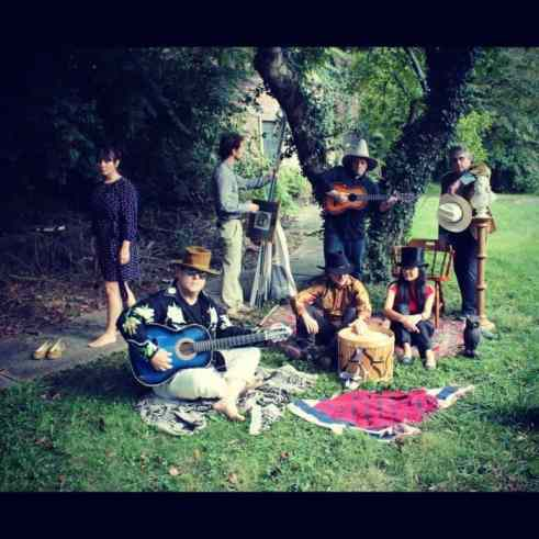 The Wayside Shrines will perform on Hinds Plaza Saturday.