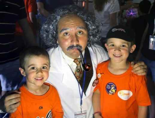 Einstein & kids OH 6-1-13