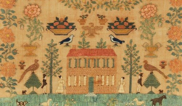 Elizabeth Hammell, Burlington County, NJ, August 1829. Collection of Daniel C. Scheid.