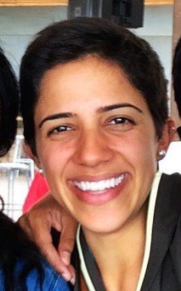 Princeton University student Aida Haddad.