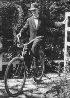 ernest-hemingway-on-a-bicycle