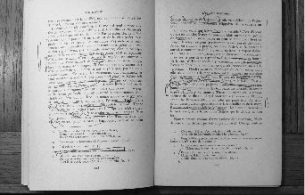 "Derrida's annotations on a page from ""Sur Racine"" by  Roland Barthes (Paris: Editions du Seuil, 1963). Photo: J. L. Logan."