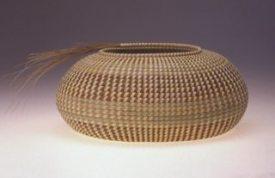 Basket by Mary Jackson.