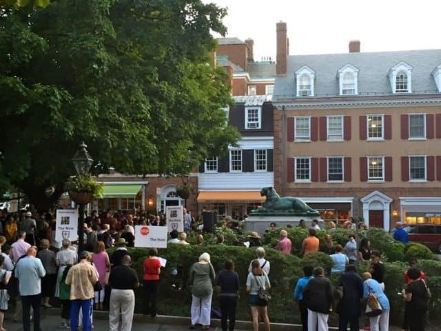 Tiger Park prayer vigil (Princeton)