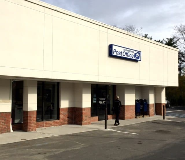 The new Princeton Post Office at 259 Nassau Street replaces the Palmer Square Post Office.