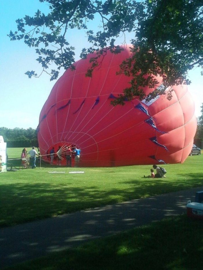 Hot air balloon Princeton
