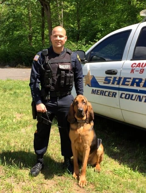 Mercer County Sheriffs Office Welcomes A New K 9 Planet Princeton