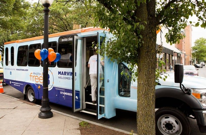 Princeton Council to consider cutting FreeB routes to Dinky station tonight