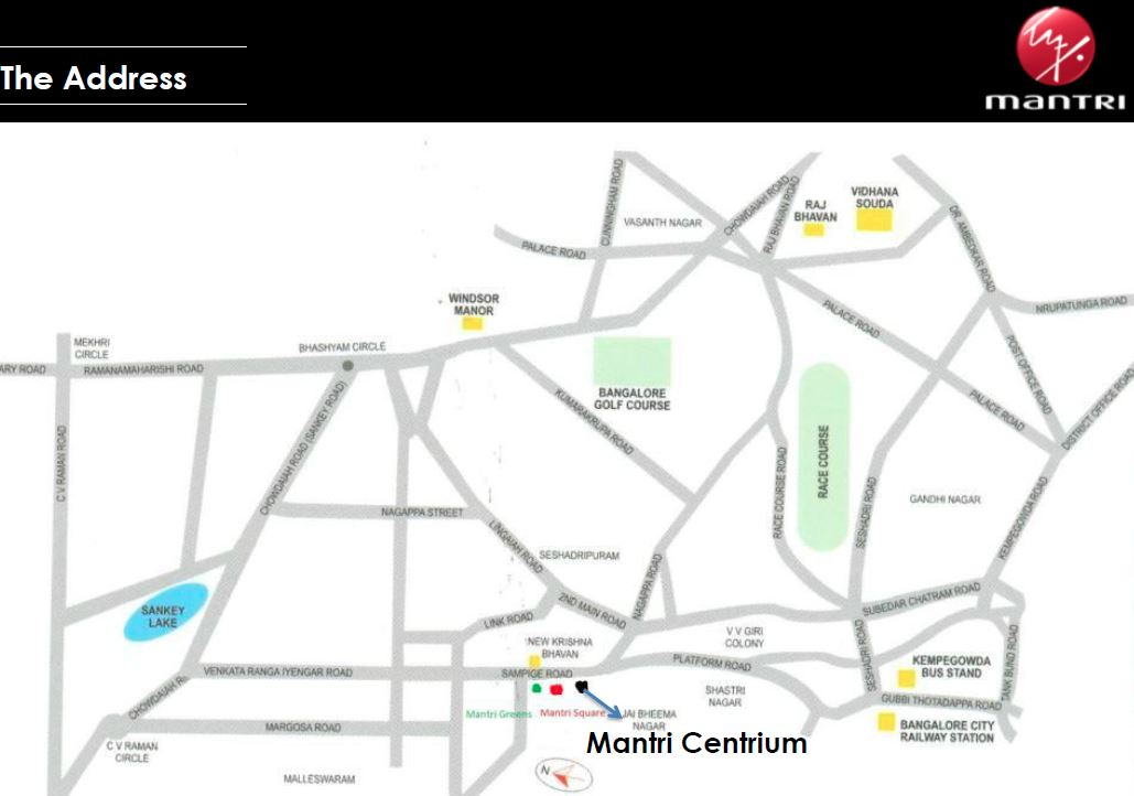 Mantri Centrium 3 & 4 Bedroom Apartments Bangalore