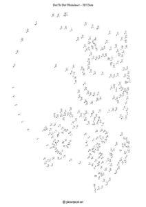 Big animal with 287 dots