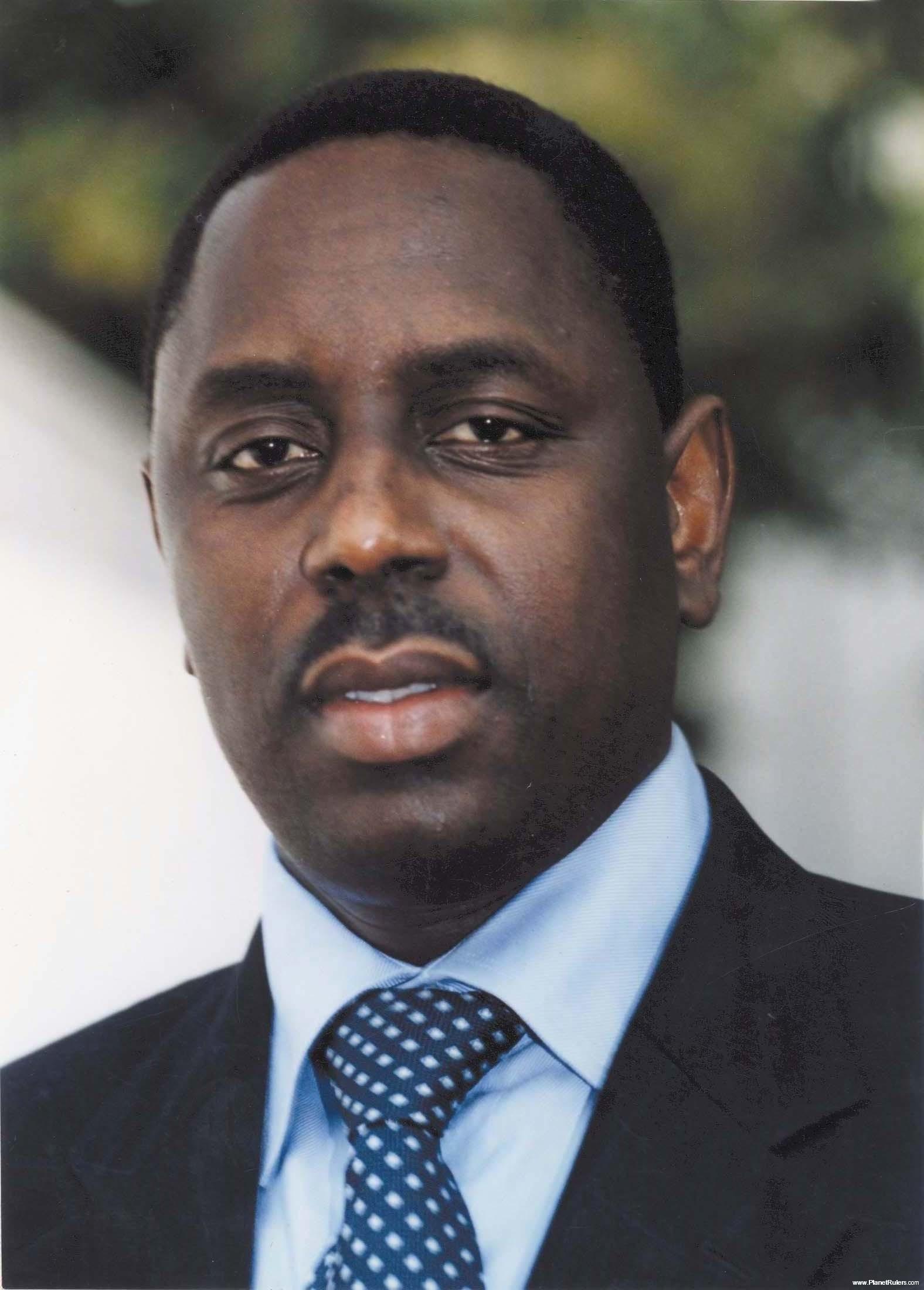 Macky Sall President of Senegal   Current Leader
