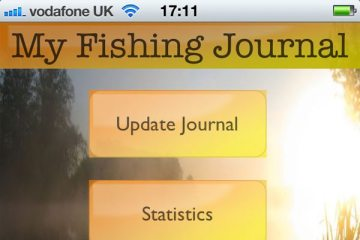My Fishing Journal for iPhone screen shot