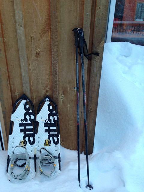 Raquetas de nieve introducción