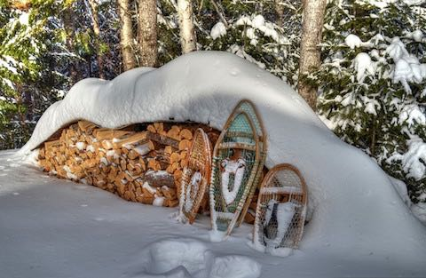 Raquetas de nieve clásicas