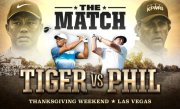 Tiger Woods will play Phil Mickelson this Thanksgiving Weekend for a $9M winner-take-all purse