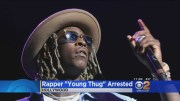 Rapper Young Thug Arrested For Carrying Concealed Weapon