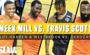 Travis Scott & Meek Mill SQUARE OFF! James Harden, Russell Westbrook, & MORE