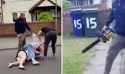Man Attacks Neighbors With A Chainsaw After A Massive Brawl!