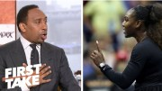Stephen A. Smith Says Serena Williams Was Wrong For 2018 US Open Controversy!