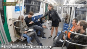 Russian Law Student Fed Up With 'Manspreading' Allegedly Dumps Bleach On Male Passengers!