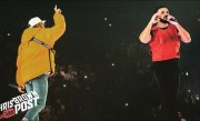 Drake brings out Chris Brown on Aubrey & the Three Amigos Tour LIVE! (10/12/2018)