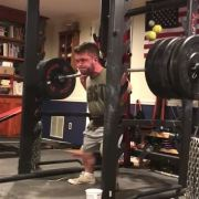 Little Man Out Here Squatting 500 Pounds Like Its Nothing!