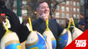 G-Unit, Bellator & Joseph Sikora Donate Over 600 Turkeys in Southside Jamaica Queens | Thanksgiving