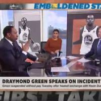 Stephen A. Smith Takes Issue With Kevin Durant's Refusal To Answer Draymond Green Questions!