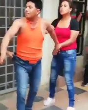 SMH: Man Chilling With His Sidechick Gets Caught By His Wife!