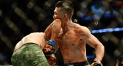 Insane: UFC Fighter Yair Rodriguez Lands A Last-Second Elbow To Knockout His Opponent!