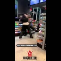 "Whoa: Fight Breaks Out Between Customer & Security Guard At A Tulsa Quiktrip! ""Get Out My F*ckin' Face B*tch"""