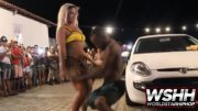 That A$$ Though: Thick Brazilian Chick Gives Lap Dances To Random Men On The Street!