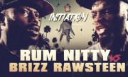 BRIZZ RAWSTEEN VS RUM NITTY SMACK RAP BATTLE | URLTV