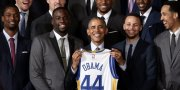 Golden State Warriors Meet with Barack Obama, Nancy Pelosi