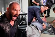 Drax Not Playing: Batista Makes His WWE Return & Attacks Ric Flair During His Birthday Celebration!